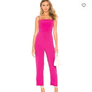 Other - NWT pink jumpsuit from Revolve
